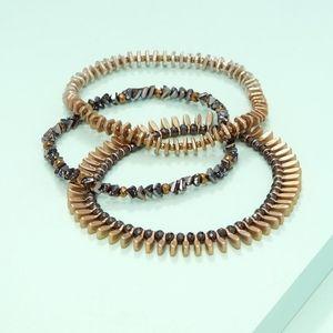 Stella & Dot Montague Stretch Bracelet Set